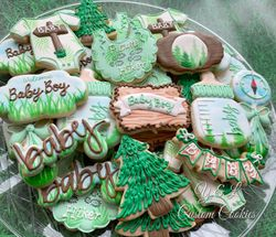 Rustic Baby Shower woods forest