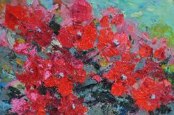 Bougainvillea abstract.