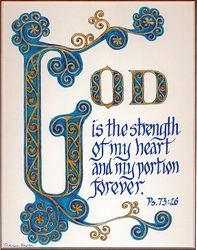 God is the Strength - Ps. 73:26