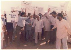 PROTEST AGAINST SANGH