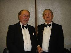 Peter Davis and Mel Sutton