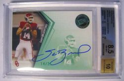 Sam Bradford Auto RC 14/25 Press Pass Emerald 1/1