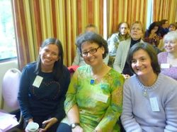 Tina, Karen and Sylvia