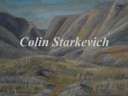 "Coulee's (9 by 12"" oil on canvas)"