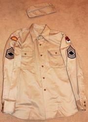 2nd Inf. Div. (EM) Khaki Shirt: