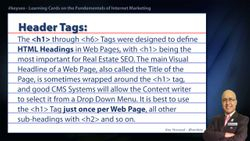 Header Tags - Real Estate SEO Short Definition