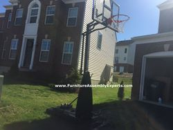 walmart portable basketball hoop assembly service in manassas va