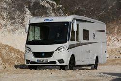 Persfoto's Knaus Van I in modeljaar 2016