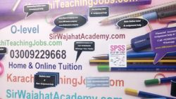 Tutor Academy in Karachi