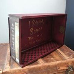 Fun Harry Potter themed box shelf