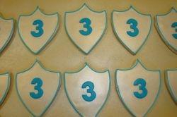silver shields $3.50 each