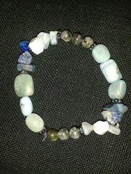 Crystal healing bracelet