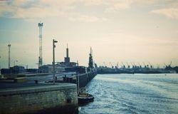 622 Calais Harbour France