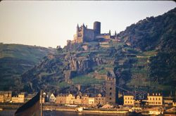 539 Castle of the Mouse Rhine Valley
