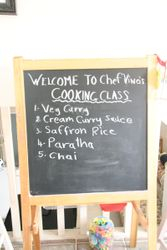 First cooking class