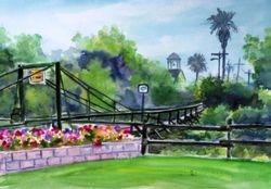 The Swinging Bridge