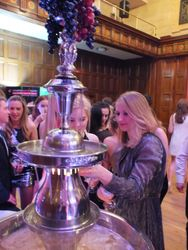 Champagne Fountain Hire Yorkshire