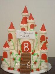 Castle Cake 1 (B050)