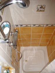 Wren cottage shower