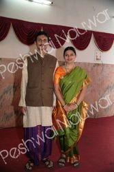 Peshwai Nauwar & Sovale (Pooja Dhoti)