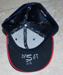 2001 Rookie Albert Pujols Game Used Mesh Hat