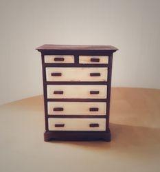 Six-drawer chest
