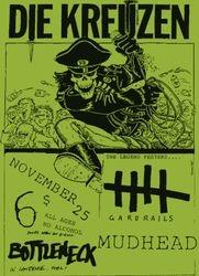 1989-11-25 Bottleneck, Lawrence, KS