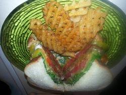 Lentil Veggie Burger 8