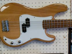 Mansfield 4 string bass guitar
