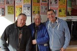 Bob Barratt, Peter Baines, Steve Barker