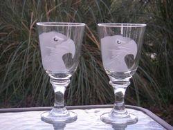 Eagle Wineglasses