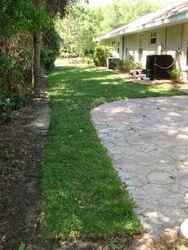Installation of Centipede Grass