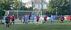 ALLAN LENNOX HEADS HOME OUR SECOND GOAL