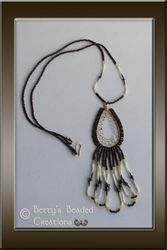 Beaded Dreamcatcher with Red Bay Labrador Porcupine Quills