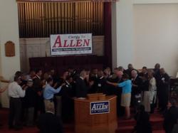 Clergy for Allen