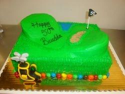 35 serving golf cake $140
