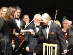 Wellesley Symphony Orchestra and Max Hobart