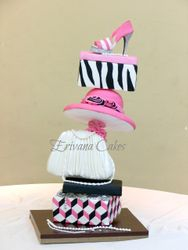 Gravity Defying - Topsy Turvy Structure Cake