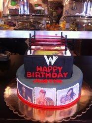 WWE Wrestling Ring Cake