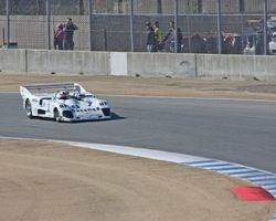 Race winning 1976 Lola T 286 approaches turn 4