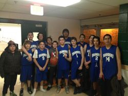 Jr. Boys Basketball Team