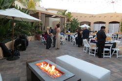 Fire Pit and Guests
