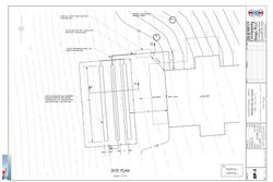 Septic Site Plan with Grading