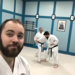 Richy and Matt Kihon ippon kumite