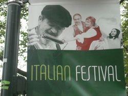 Banner for 2011 Festa Italiana