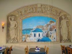Yamas Greek Restaurant 8ft x 12ft