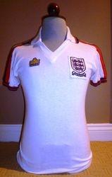 England match worn under 21 shirt for sale