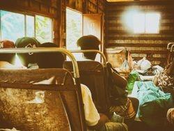 3 uur rijden met het busje
