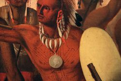 Stanley, Osage Scalp Dance, 1845, Smithsonian