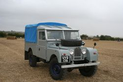 Series 1 long wheelbase LandRover
